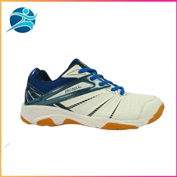 Giày đánh cầu lông nam nữ Promax 19001 màu trắng, đủ size , bảo hành 12 tháng - Giày đánh bóng chuyền - Giay cau long - giay the thao