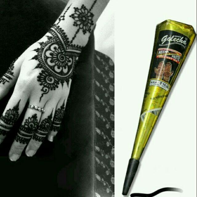 Mực vẽ Henna đen hàng LOẠI 1 chính hãng