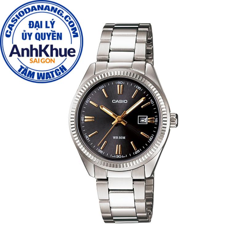 Đồng hồ nữ dây kim loại Casio Standard chính hãng Anh Khuê LTP-1302D-1A2VDF (30mm)