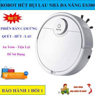 Robot Tự Động Lau Nhà ES300, Robot Hút Bụi Lau Nhà, Robot Hút Bụi Cao Cấp ES300. Tự Động Phát Hiện Khi Gặp Các Vật Cản , Dễ Dàng Làm Sạch Các Vị Trí Khó Như Gầm Giường, Tủ, Ghế Sofa. Giá Cực Sốc, Hãy Mua Ngay thumbnail