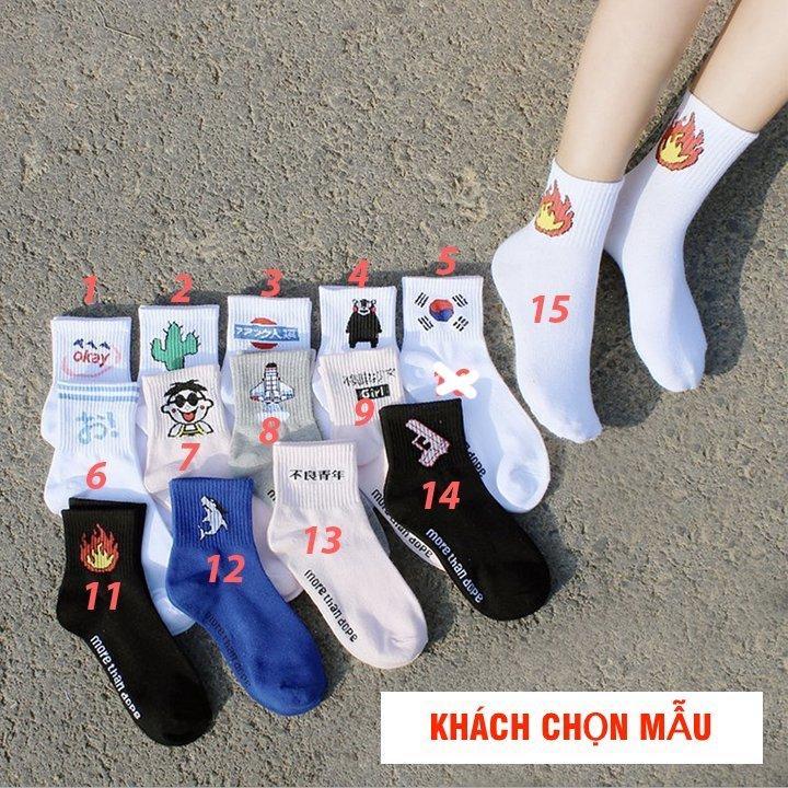 Vớ Tất Nữ Hàn Quốc Ulzzang Chân Nữ - Tất Đẹp Chất Lượng Khách Chọn Mẫu (Kho HCM) Đang Khuyến Mại Khủng