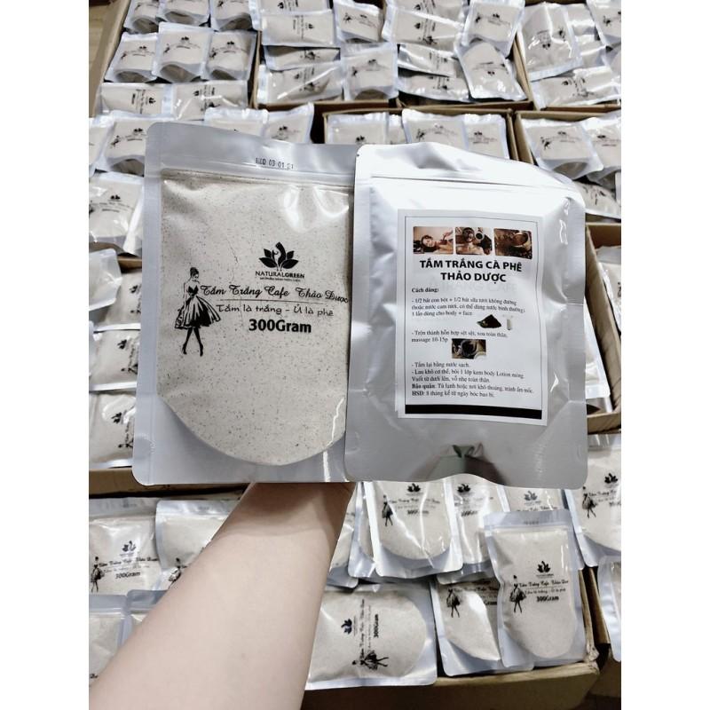 Ủ TRẮNG CAFE (dùng cả face và body) . 300gr  (mẫu mới ) HÀNG  CÓ BẢO HÀNH giá rẻ