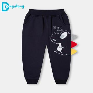 quần Trẻ Em 2021, Quần Thể Thao Thường Ngày Cho Bé Trai Ba Chiều Hoạt Hình Khủng Long