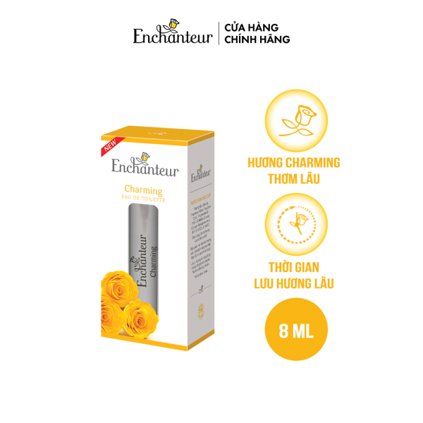 [Deal Độc quyền] Nước hoa cao cấp Enchanteur Charming 8ml cao cấp