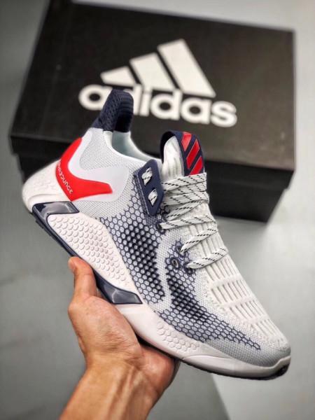 Giày adidas alpha bounce 2020 đủ màu(màu đen, màu xám trăng, xám đỏ, màu xanh, màu cam), giày thể thao alpha nam , giày sneakers hot trend chạy bộ, đi học, đi chơi, đi làm. (full box)