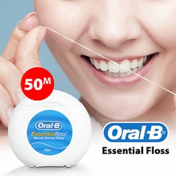 - Cam kết chính hãng- Chỉ Nha Khoa Oral-B Cho Nướu Nha-y Ca-m (50m) giá rẻ