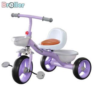 Xe đạp trẻ em, Xe đạp 3 bánh 001 có giỏ để đồ dành cho bé từ 2 đến 6 tuổi thumbnail