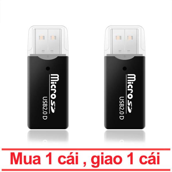 Bảng giá 【Mua 1 tặng 1】USB 2.0 Đầu Đọc Thẻ Cho Thẻ TF Micro SD Tất Cả Trong 1 Đa Đầu Đọc Thẻ Nhớ Đầu Đọc Thẻ Cho Máy Tính Để Bàn Phong Vũ