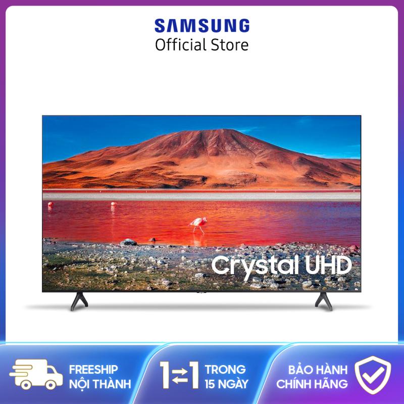 Smart Tivi Samsung Crystal 4K 75inch UA75TU7000KXXV[Hàng chính hãng, Miễn phí vận chuyển] chính hãng