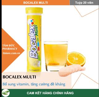 BOCALEX MULTI DHG (Tuýp 20 viên) - Viên sủi Bổ sung multivitamin [Beroca, berroca, berocca] thumbnail