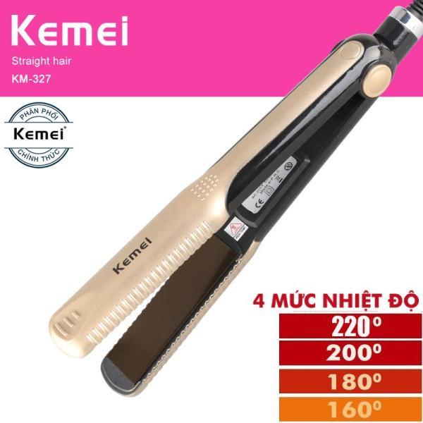 Máy duỗi tóc 4 mức điều chỉnh nhiệt Kemei 327