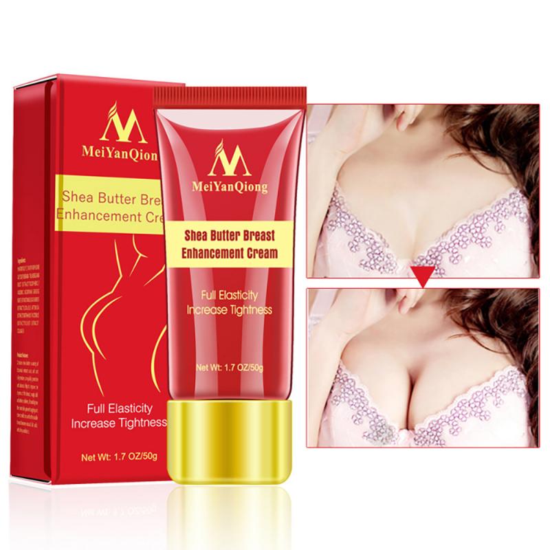 MeiyanQiong Kem tăng ngực nở ngực, kem làm tăng kích thước, massage nâng ngực chiết xuất hạt bơ tự nhiên Shea Butter Enhancement Breast Cream Upsize Body giá rẻ