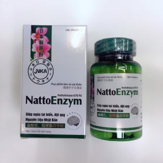 NattoEnzym - phòng ngừa tai biến và đột quỵ ( Lọ 90 viên) thumbnail