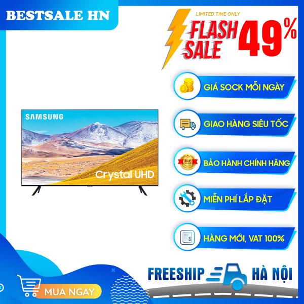 Bảng giá Smart Tivi Samsung 4K 55 inch 55TU8100 (2020) - Công nghệ màu sắc: Công nghệ Crystal Display - Bộ xử lý hình ảnh: bộ xử lý Crystal 4K - Công nghệ HDR