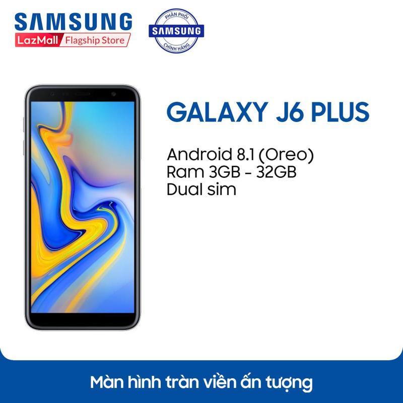 Điện thoại Samsung Galaxy J6+ - 3GB RAM - 32GB ROM - 6 inch -  - Android điện thoại thông minh