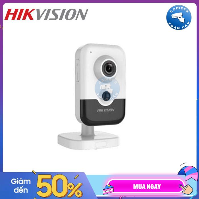 Camera IP WIFI Hikvision DS-2CD2423G0-IW (2MP) (thay thế cho DS-2CD2420F-IW) - Công nghệ hồng ngoại EXIR 2.0, tầm xa hồng ngoại 10m - 2MP chuẩn nén H.265+ Wifi - Bảo hành 2 năm