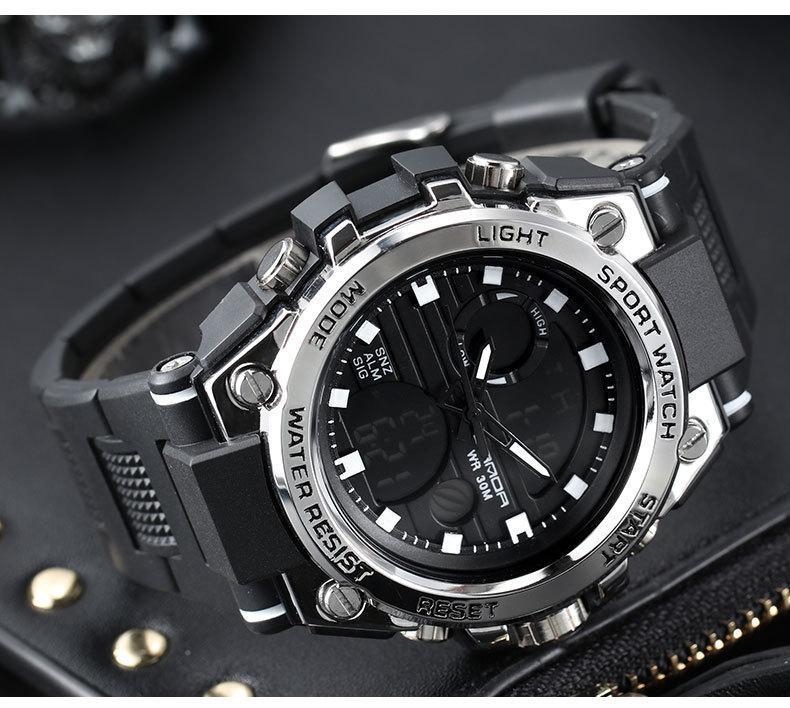Đồng Hồ Thể Thao Nam Sport Watch Sanda 739 Size 48mm bán chạy