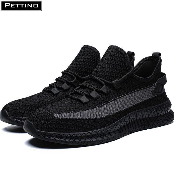 Giày thể thao nam, giày nam đẹp, vải sợi kết hợp dải lưới thoáng khí, thời trang PETTINO - LLPZS03
