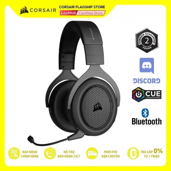 Bảng giá Tai nghe Corsair HS70 Bluetooth CA-9011227-AP Phong Vũ