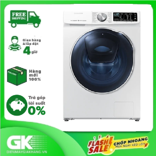 [Trả góp 0%]Máy giặt sấy Samsung AddWash Inverter 10.5 kg WD10N64FR2W SV Mới 2020 thumbnail