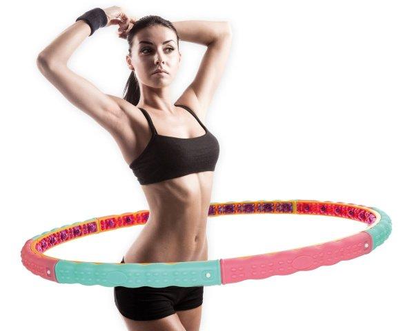 Bảng giá Vòng Lắc Eo Massage - Cho Vòng Eo Thon Gọn, bộ sản phẩm cao cấp Vòng lắc bụng, Lắc vong giảm cân, Lắc vòng giảm mỡ bụng, Vòng lắc