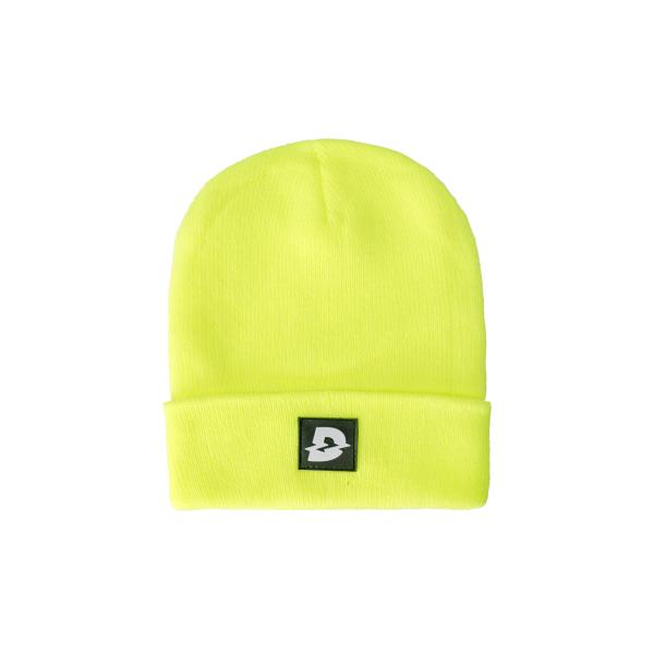 Mũ len nam nữ Davies DSS Beanie Hat D Logo - Neon