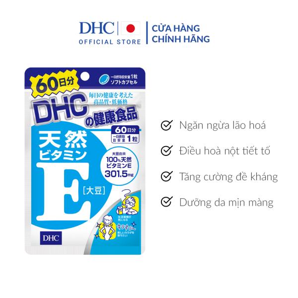 Viên Uống DHC Bổ Sung Vitamin E Nhật Bản 60 Ngày