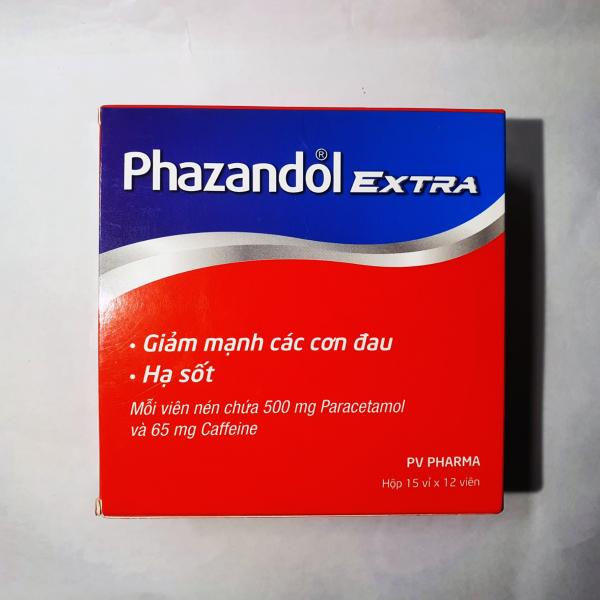 PHAZAND0L Extra - Hộp 180 viên bán chạy