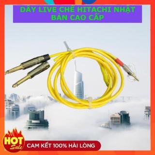 Dây Live Chế 2 Đầu 6 Ly Ra 3,5 FREESHIP Dây Live Chế Hitachi Nhật xịn cho mixer F4, F7, Icon upod pro thumbnail