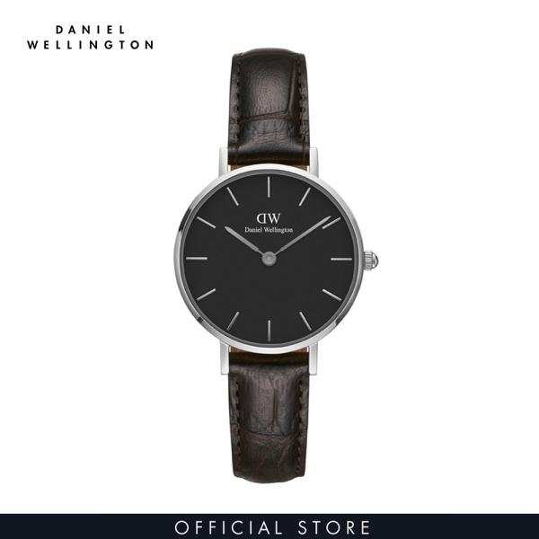 Đồng hồ Nữ Daniel Wellington dây da - Petite York 28mm DW00100238