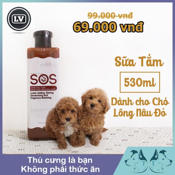 Sữa Sắm SOS Dành Cho Chó Lông Màu Nâu Đỏ 530ml - Phụ Kiện Thú Cưng Long Vũ
