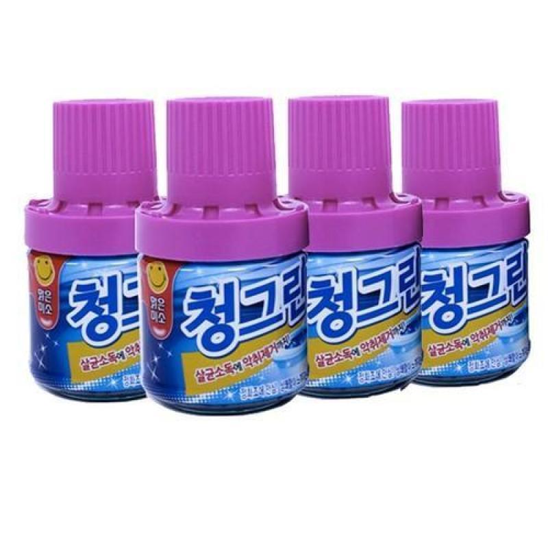 Combo 4 chai thả bồn cầu Hàn Quốc thơm lâu diệt khuẩn