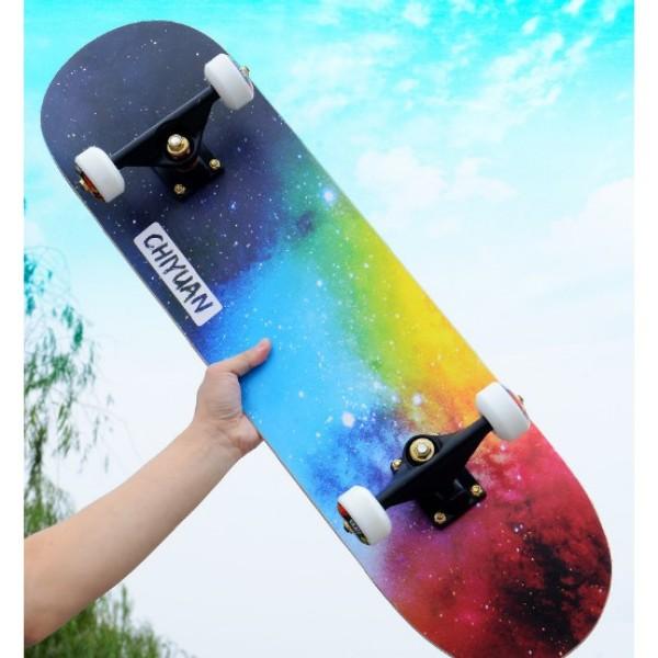 Giá bán [ Khuyến Mãi Hot ] ván trượt Skateboard  thi đấu mặt nhám cho Mọi Lứa Tuổi