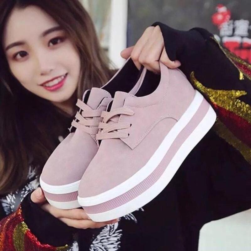 giày thể thao nữ độn đế hàng đẹp