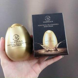 Mặt nạ collagen quả trứng vanekaa yeast royal jelly egg shell mask cream thumbnail