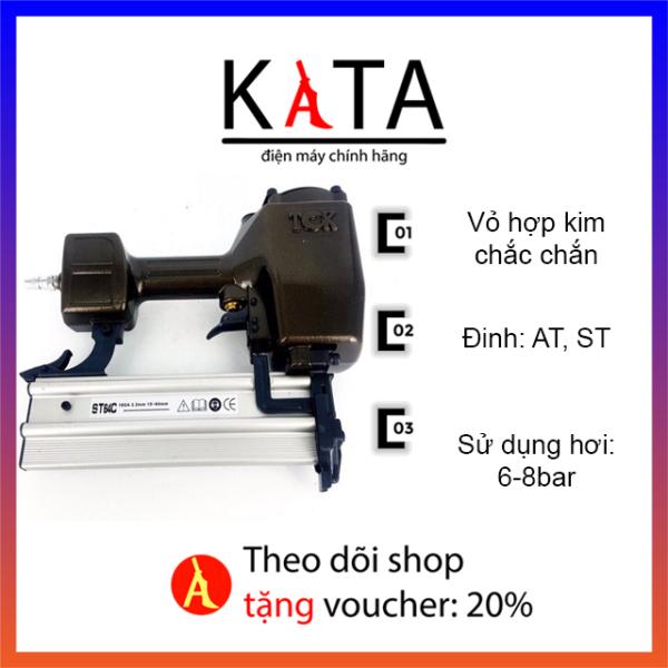 Súng Bắn Đinh Bê Tông ST64 TCk (hàng công ty) - Dùng Máy Nén Khí - súng bắn đinh Kata