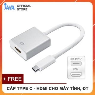 Cáp USB Type C sang HDMI tuyền tải hình ảnh, âm thanh từ điện thoại, máy tính sang TV, máy chiếu thumbnail