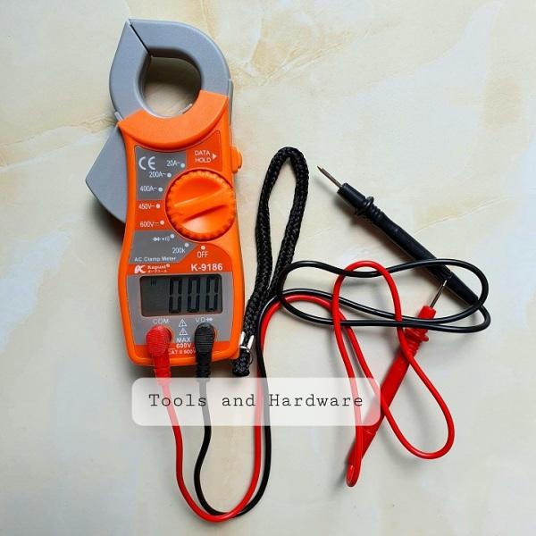 Ampe kềm đo điện hãng Kapusi Nhật Bản K-9186 có tặng kèm bút thử điện Kapusi (Ampe kìm đo điện)