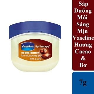 Sáp Dưỡng Môi Sáng Mịn Vaseline 7g Hương Bơ & Cacao - Vaseline Lip Therapy Cocoa Butter thumbnail