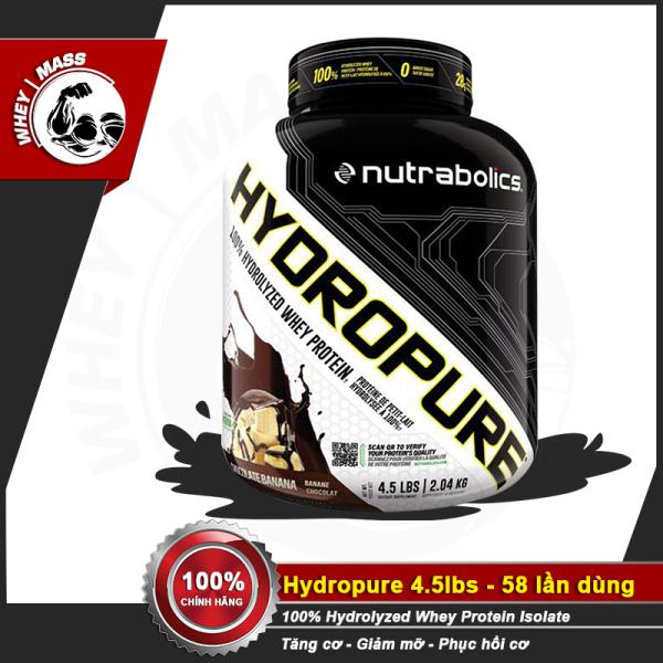 Sữa Tăng Cơ Giảm Mỡ Nutrabolic - Hydropure 4.5 LBS