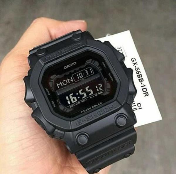 Đồng hồ G-SHOCK GX56 ( FULL ĐEN ) thể thao nam + Tặng kèm pin + Bảo hành 6 tháng bán chạy