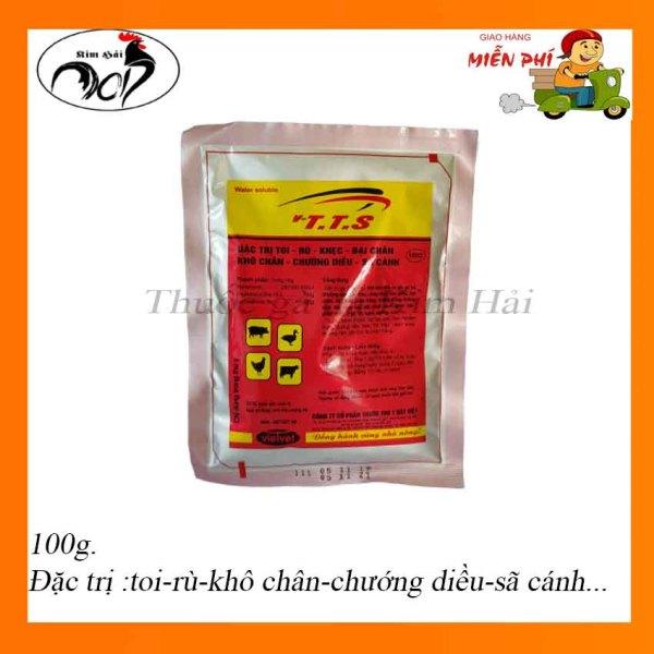 T.t.s gói 100 g-Toi-Rù-Khô chân-Sệ cánh-Chướng diều hiệu quả cho gà tơ và gà con.thuốc nuôi gà đá hằng ngày hiệu quả.