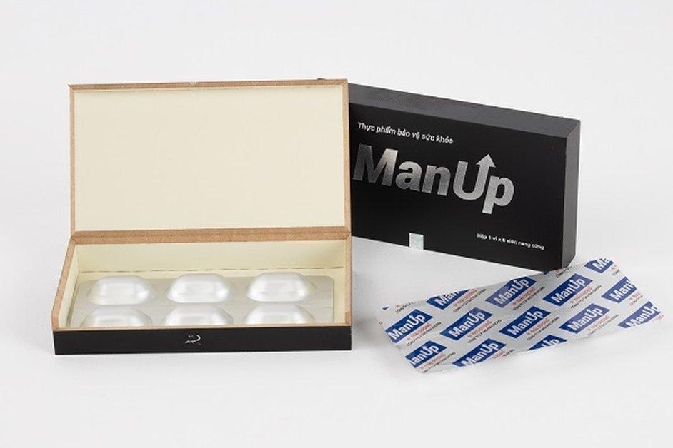 Viên uống Manup bồi bổ cơ thể, tăng cường miễn dịch nhập khẩu