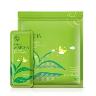 [BỊCH 15 GÓI - HOT ] Mặt Nạ Ngủ Trà Xanh Laikou Matcha Mud Mask- Dưỡng ẩm, ngăn ngừa lão hóa da và loại bỏ những vết thâm đen, vết sẹo và mụn trứng cá da thumbnail