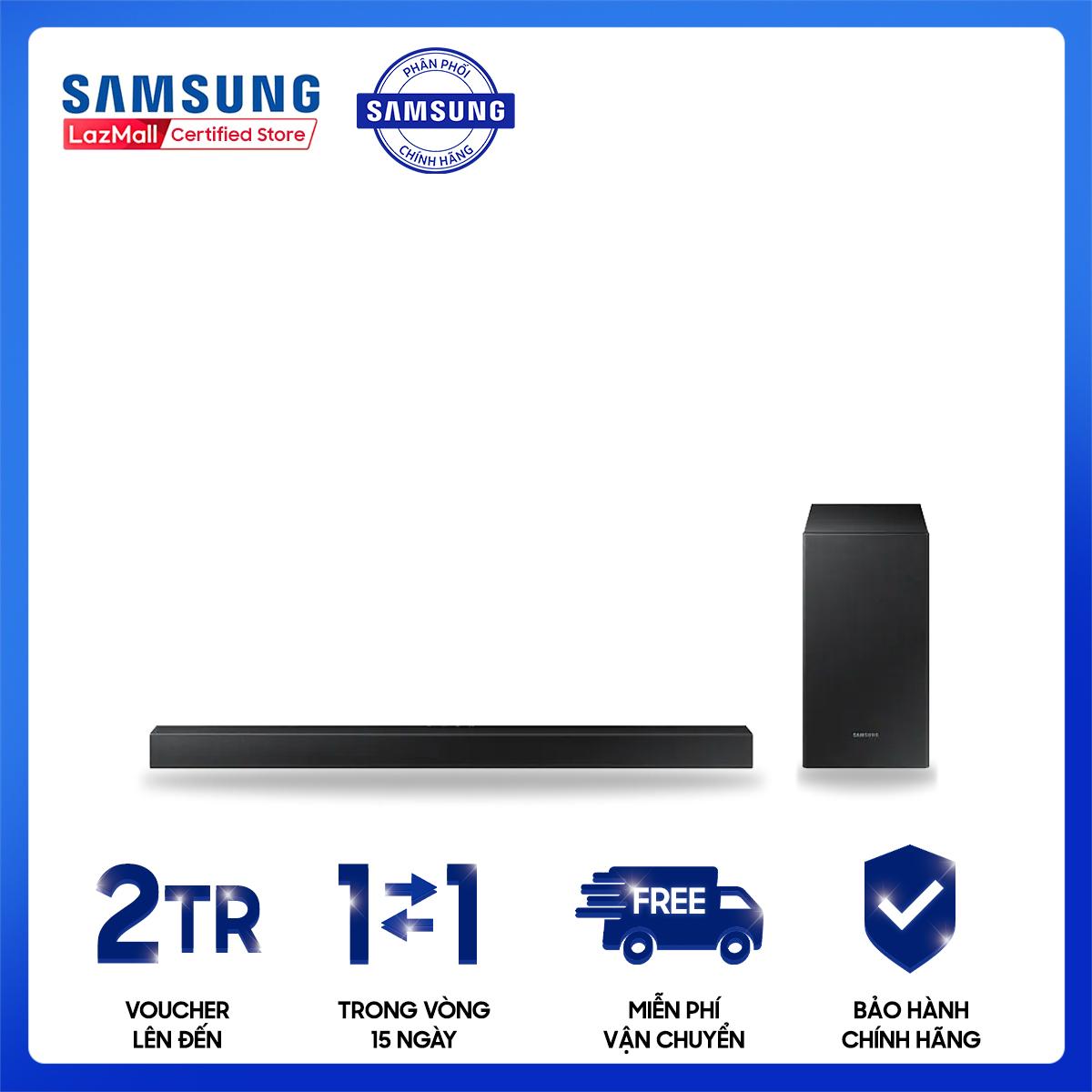 Loa thanh Samsung 2.1ch 200W HW-T450/XV[Hàng chính hãng, Miễn phí vận chuyển]