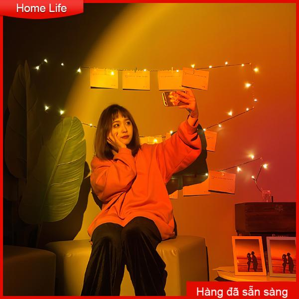 Đèn hoàng hôn tầng đèn chiếu sáng bầu không khí sống chiếu sáng bầu khí quyển, đèn led ánh sáng hoàng hôn Tiktok 5w màu đèn LED ánh sáng bầu khí quyển, cầu vồng, hoàng hôn làm nền chụp ảnh ảo như thật Night Light Atmosphere Light