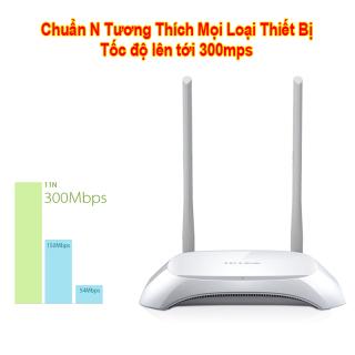 Bộ Phát Wifi TP-LINK 2 Râu Cực Khỏe BH 12 Tháng - Giá Siêu Rẻ bạn sẽ tiết kiệm được hơn 200 k khi sử dụng sản phẩm này. Cài đặt sẵn cắm vào là dùng được ngay. thumbnail