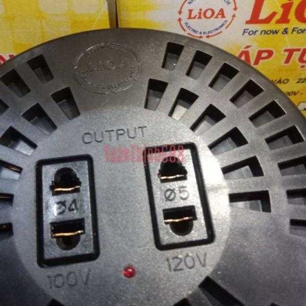 Biến áp đổi nguồn 1200VA - 1000VA Lioa
