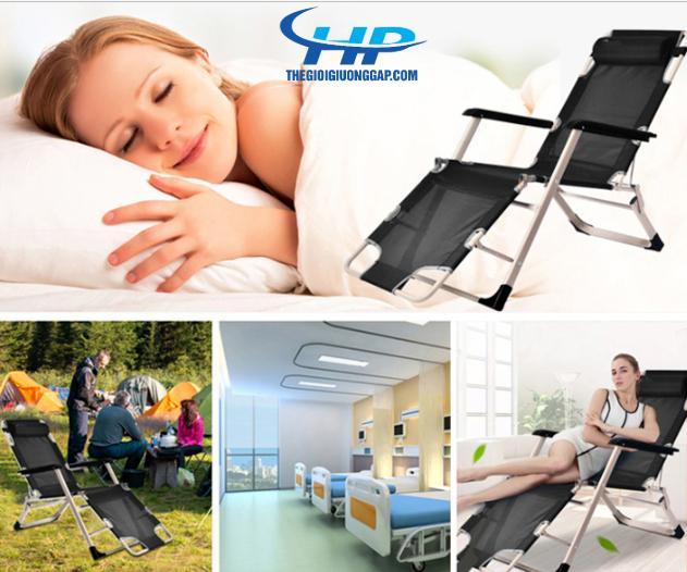 Giường gấp, giường xếp đa năng 2 in 1 mẫu mới 2020 khung vuông NIKA138