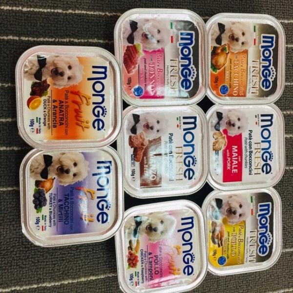 Pate cho chó Monge 100gr ( đủ vị), chất lượng đảm bảo an toàn đến sức khỏe người sử dụng, cam kết hàng đúng mô tả